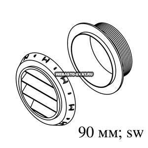 1320709A Дефлектор AT3500/5000 45° d=90мм (пластик)