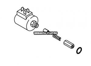 1319359A Клапан магнитный 12В (корпус)