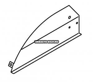 1102484B Опорная крышка (левая сторона)
