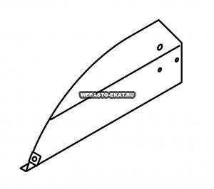 1102485B Опорная крышка (правая сторона)