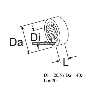 1312785A Кольцо d=20 (резина)