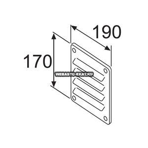 128228 Решетка вентиляционная