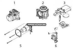 графический каталог запчастей для Thermo Pro 50