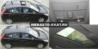 Hyundai Solaris HB с установленным люком Hollandia 710-III Comfort